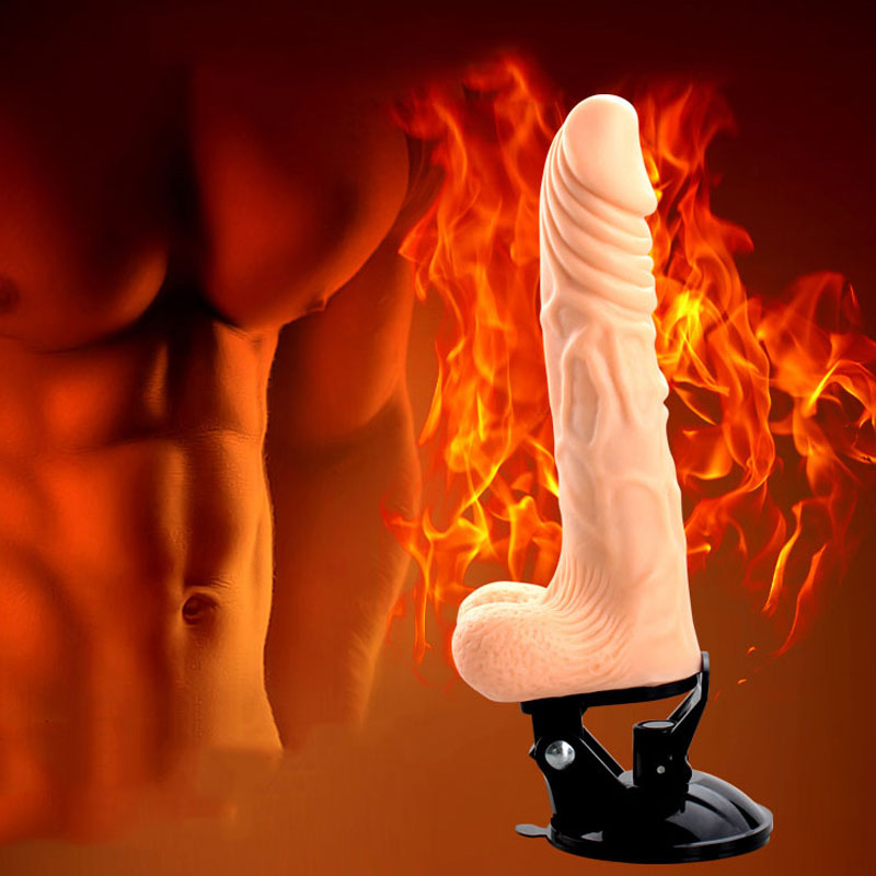 dương vật giả silicon - đồ chơi tình dục nữ