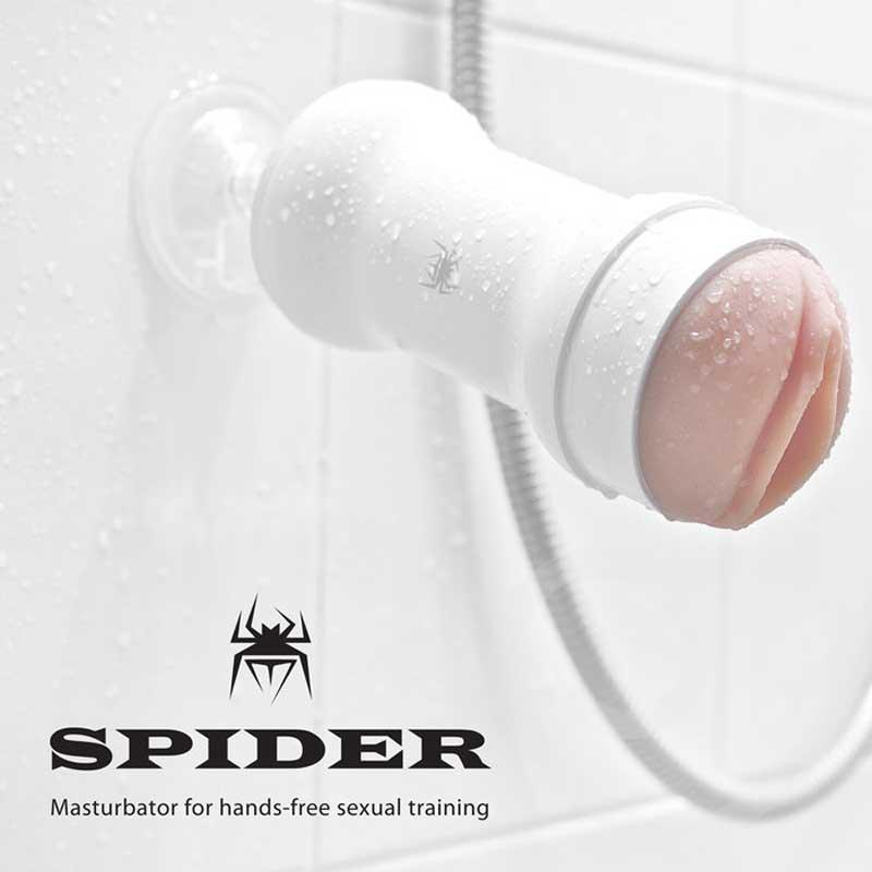 âm đạogiả gắn tường chống nước silicon Spider Korea