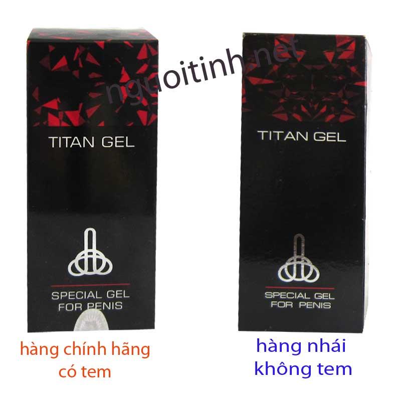Gel TITAN nga nhập khẩu chính hãng