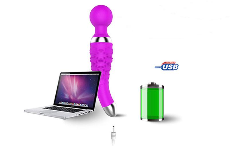 Chày rung massage điểm G Dibeimột đầu mini - đồ chơi kích dục nữ