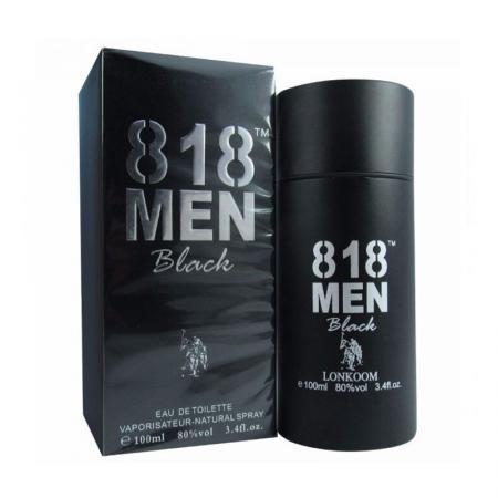 Nước hoa kích thích nữ 818 MEN BLACK - sextory