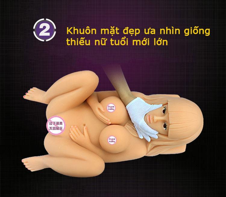 Búp bê tình yêu silicon mini dành cho nam giá rẻ Angela