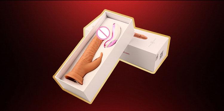 Dương vật giả hít tường đa năng silicon siêu rung mềm mịn CYBERSKIN