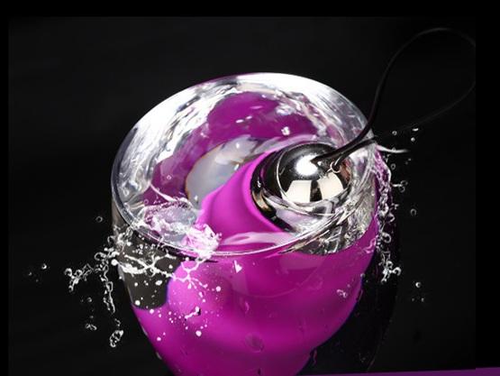 Trứng rung tình yêu silicon massage điểm g cao cấp 10 chế độ