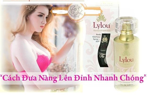 Nước hoa kích dục nữ LYLOU - nước hoa kích dục nam nữ