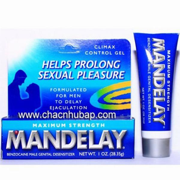 Gel bôi trơn trị xuất tinh sớm MANDELAY - trixuattinh.com