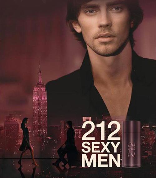nước hoa tình yêu nam nữ212 Sexy Men